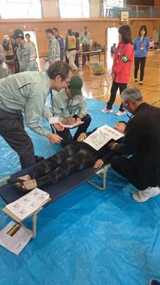 平塚市医師会防災訓練