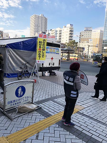 街頭献血活動